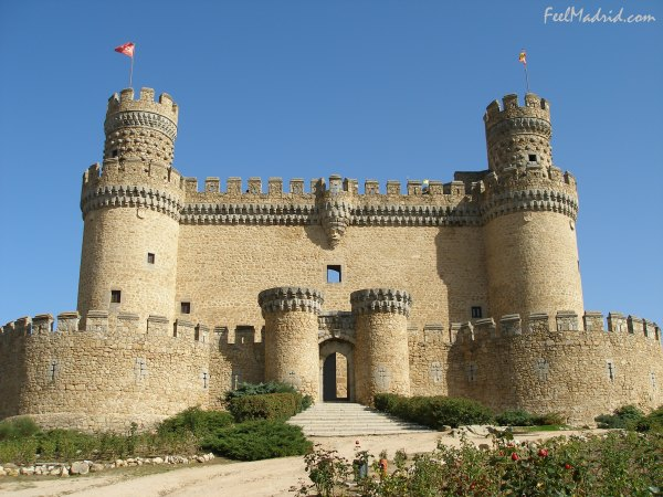 Castle of Manzanares el Real - Castillo de Manzanares el Real