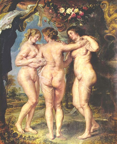 The Three Graces by Rubens