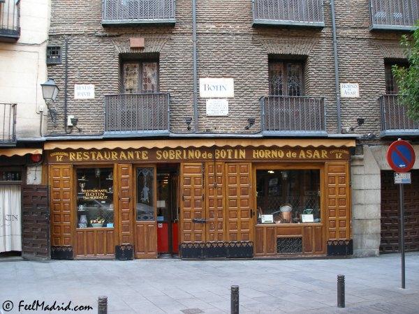 Restaurante bot n calle cuchilleros madrid for Restaurante lamucca calle prado madrid